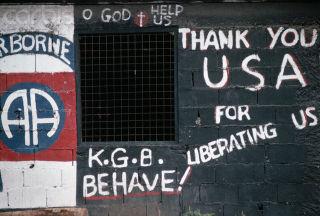 Pro-US Grafitti in Grenada