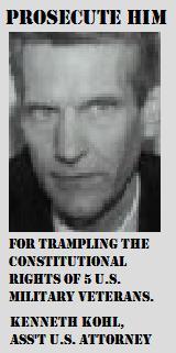 Prosecute Kenneth Kohl