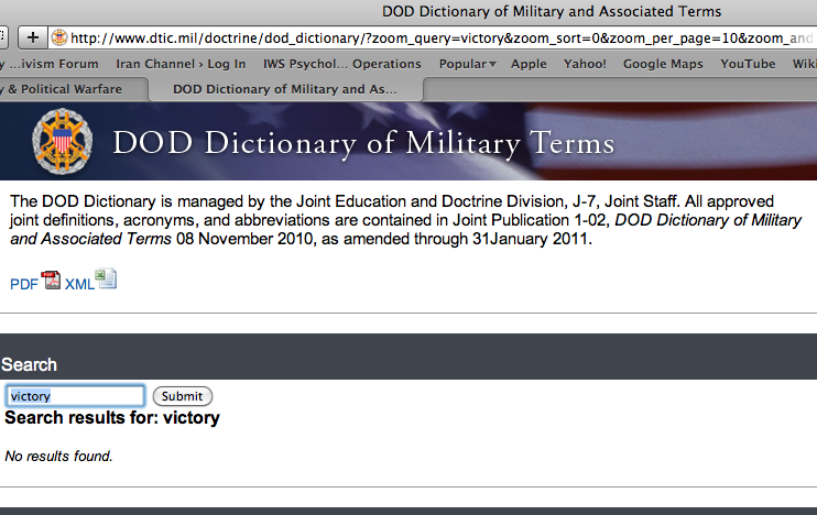 DoD Victory